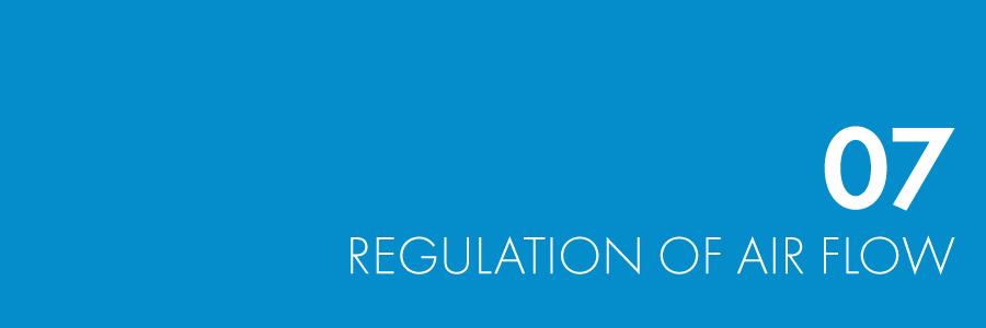 Regulation of Air Flow