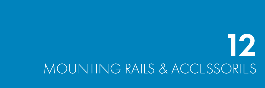 Mounting rails & Accessories