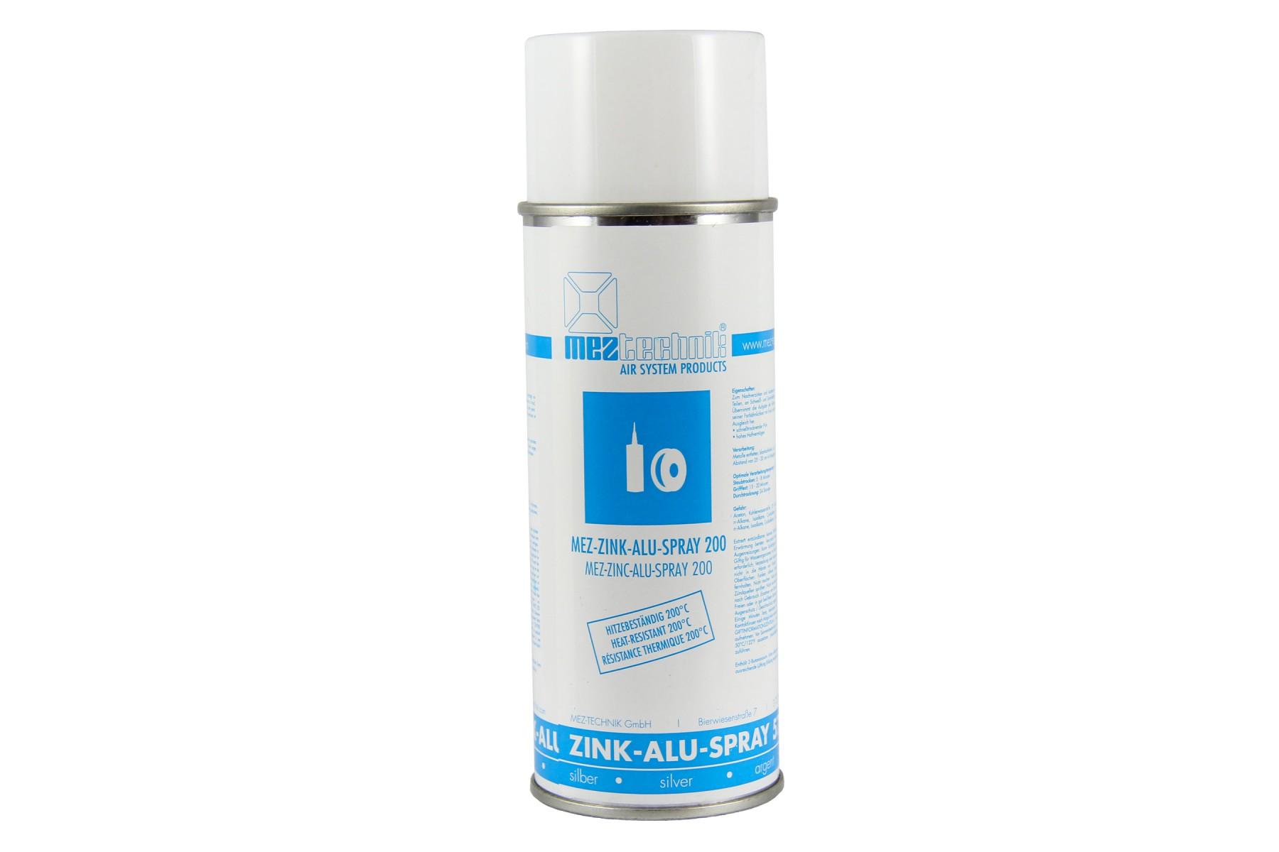 mez zink alu spray zum schutz gegen rost korrosion. Black Bedroom Furniture Sets. Home Design Ideas