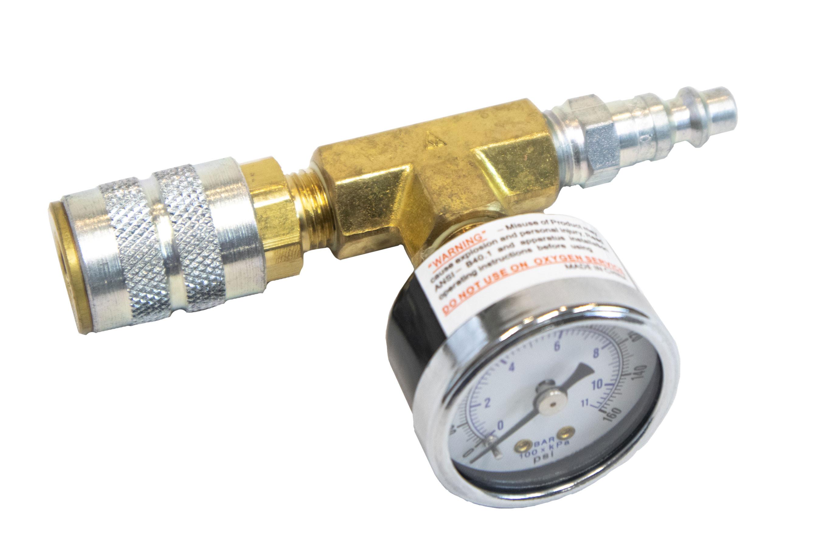 Druckmesser Luftdruckanschluss