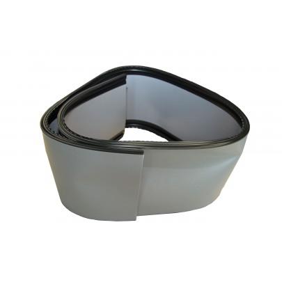 PVC-BAND 100 mm-Kederprofilen