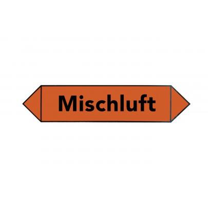 MEZ-STICKER - Mischluft orange