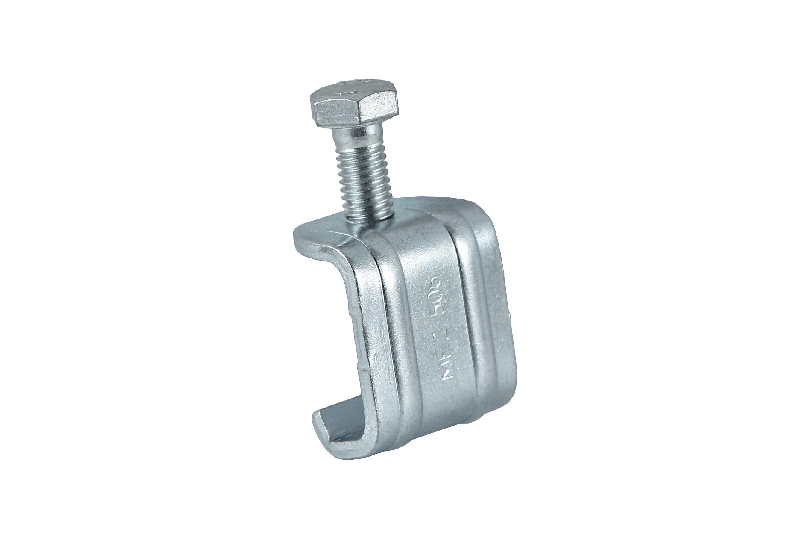 MEZ-LATZ 506, Luftkanalklammer, Verbindung von rechteckigen Luftleitungen