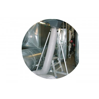 Telescope lifting set