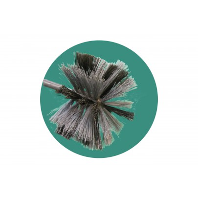 Ball brush M12, Ø 150 mm