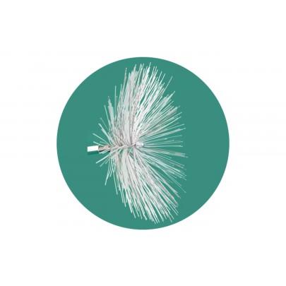 Bristle brush M12, Ø 100 mm